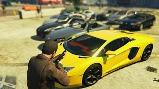getlinkyoutube.com-GTA 5 Real car pack Mod : Download