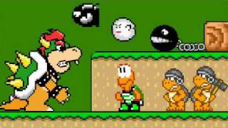 Bowser and His Minions width=
