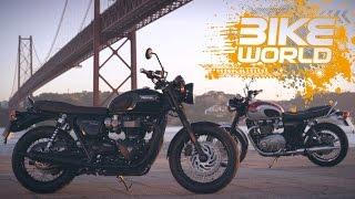 getlinkyoutube.com-2016 Triumph Bonneville T120 Review (First Ride)