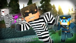 getlinkyoutube.com-Minecraft Mini-Game: COPS N ROBBERS! (STOP WITH THE SQUIDS!) /w Facecam