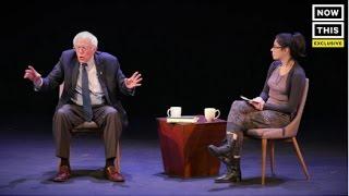 getlinkyoutube.com-Bernie Sanders In A Candid Conversation With Sarah Silverman
