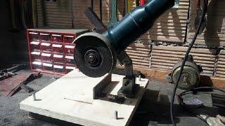 getlinkyoutube.com-supporto smerigliatrice fai da te (homemade angle grinder stand)