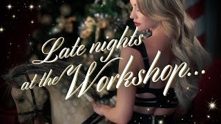 Late nights at the Workshop... Christmas 2016 | Honey Birdette
