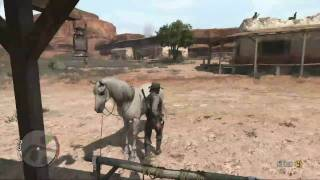 getlinkyoutube.com-Red Dead Redemption - Heading South on a White Bronco Achievement Guide
