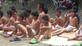 getlinkyoutube.com-2011滋賀県長浜市湖北町山本「放生会」子供相撲