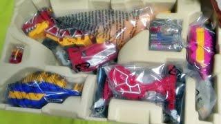 getlinkyoutube.com-파워레인저 다이노포스 DX 티라노킹 반다이 장난감 구입 개봉기 언박싱
