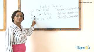 Learn Spanish Fast! - Lección 6 - Conjugación Verbos - Futuro - Cantar