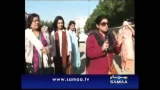 getlinkyoutube.com-Maya Khan Raids on couples in Karachi Parks