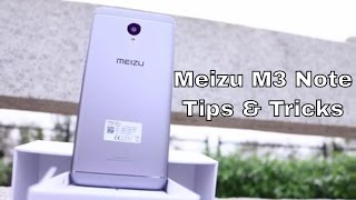 50 Tips and Tricks Meizu M3 Note
