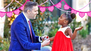 Dad Takes Paisley to Daddy Daughter Dance   Behind the Braids Ep.24