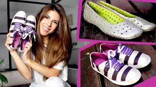 getlinkyoutube.com-DIY: RENUEVA TUS ZAPATOS VIEJOS! ¡2 IDEAS SUPER DIVERTIDAS! ツ ✿ por Lau