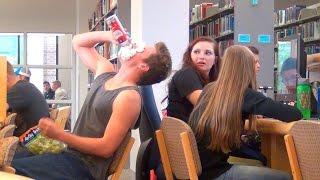 getlinkyoutube.com-Loud Eating in the Library!