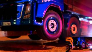 Realistic RC experience - RC 8X4 Scania Recovery Truck towing operations.. Volvo FH-16 dump