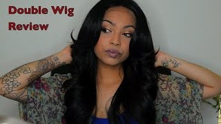 getlinkyoutube.com-Double Wig Show & Tell | Vivica Fox Lavender V & Freetress Equal Marvel