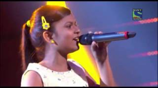 getlinkyoutube.com-Indian Idol Junior 2015!  Maahi Ve  by Niharika