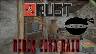 getlinkyoutube.com-Rust - Ninja Eoka Base Kill Raid