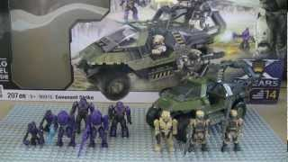 getlinkyoutube.com-Mega Bloks Halo Covenant Strike Review