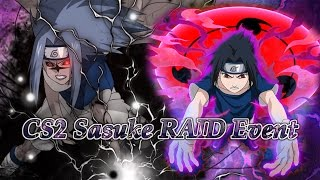 getlinkyoutube.com-Curse Mark Level 2 Sasuke S Rank RAID EVENT Live! | Naruto Ultimate NInja Blazing