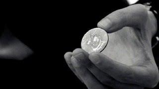 خدع القطع النقدية - خدعة إنتقال القطعة