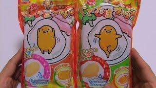 getlinkyoutube.com-GudeTama Pudding Diy Candy ~ ぐでたまプリン 知育菓子