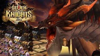 getlinkyoutube.com-Seven Knights #13 Dragon Raid เทคนิคการจัดทีมล่ามังกร (ในดันเจี้ยนถ้ำมังกร ) | xBiGx