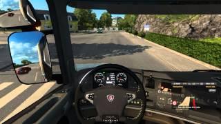 getlinkyoutube.com-ETS 2 Scania Streamline R730: Straight Pipe V8