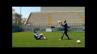 getlinkyoutube.com-Leonidas Panagopoulos - Goalkeeper