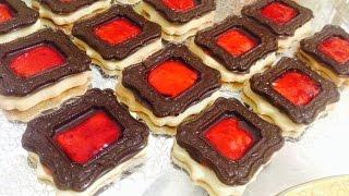 getlinkyoutube.com-أدهشي ضيوفك بحلوى راقية شكلا ومذاقا وبكمية كثيرة رووعة تذوب فالفم