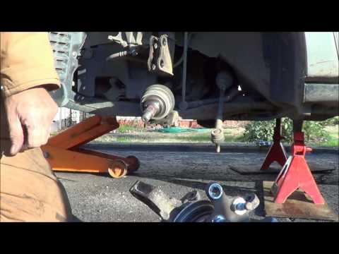 99 Toyota Sienna Wheel Bearing Part 2
