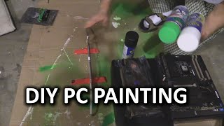 getlinkyoutube.com-How To Paint Your PC Parts - Linus Plasti Dip Method