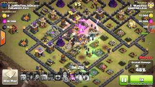 getlinkyoutube.com-Clash Of Clans War Strategy  Th 9 GoWiWi 3 stars