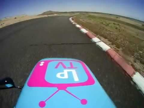 F1 Sidecar Willow Springs SRA-West/ahrma 4-28-29 helmet cam race 1
