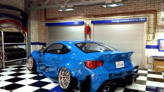 getlinkyoutube.com-Rc Custom Garage Subaru Brz Rocket Bunny vn2