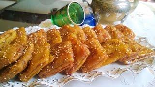 رغيفات مقليين و معسلين / rghayef au miel