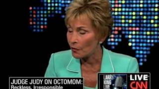 "getlinkyoutube.com-Judge Judy On Octo Mom: ""No Different from AIG...and She's Using Tax Payer Money"""