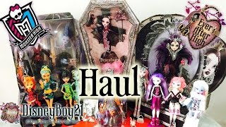 getlinkyoutube.com-Monster High & Ever After High - Doll Mail Day Haul