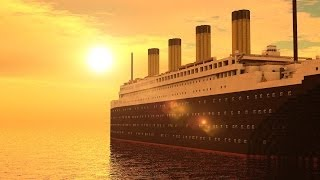 getlinkyoutube.com-Minecraft: RMS Titanic - departure, travel and sinking
