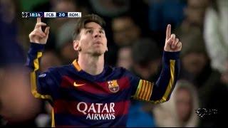 getlinkyoutube.com-Barcelona 6-1 Roma Full Goals & Highlights [25/11/15] - EXTENDED Highlights