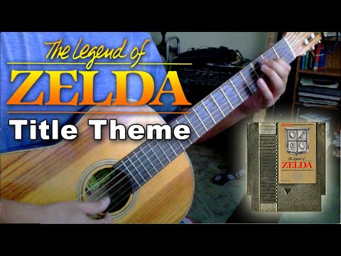 Legend of Zelda (NES) - Title Theme - Classical Guitar Tabs
