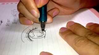 漫画家志望!女の子の目の書き方①