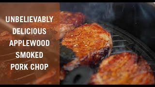 Unbelievably Delicious Applewood Smoked Porkchop Recipe