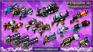 getlinkyoutube.com-Pixel Gun 3D - Guns that you should buy