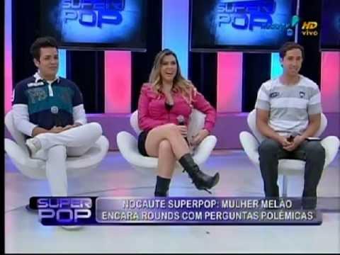 Mulher Melão responde perguntas polêmicas no Superpop 28.05.12