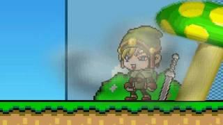getlinkyoutube.com-DZ - Link vs Mario