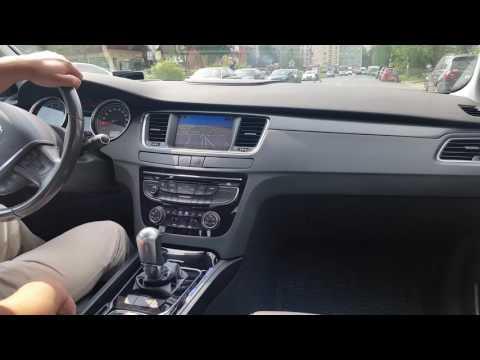 Peugeot 508 ч.4 Работа Электронного ручного тормоза, АКПП, Климат-контроля, Мультимедиа