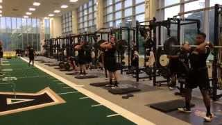 getlinkyoutube.com-2014 Army Football Strength Training