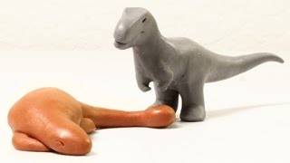 getlinkyoutube.com-Sleeping Tank | Minisaurs | Dinosaur Animation Short