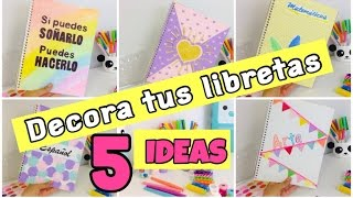 getlinkyoutube.com-IDEAS para DECORAR tus LIBRETAS
