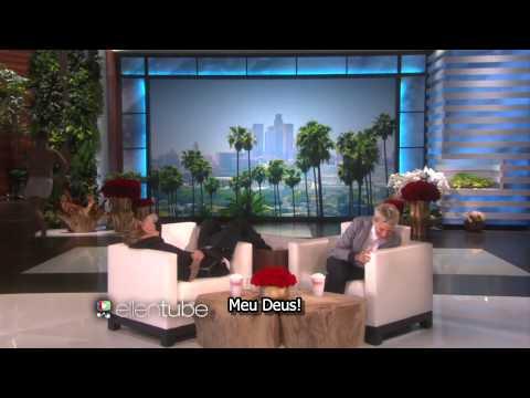 The Ellen DeGeneres Show: Justin Bieber leva o maior susto da apresentadora [LEGENDADO]