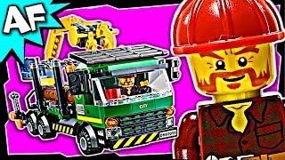 getlinkyoutube.com-Lego City LOGGING TRUCK 60059 Stop Motion Build Review